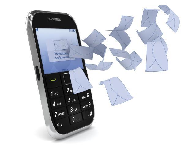שליחת sms